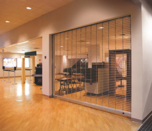 coiling doors for security