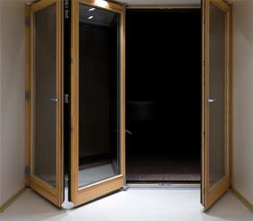 commercial bi-fold doors in Twin Cities, MN