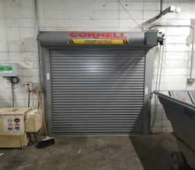 coiling door
