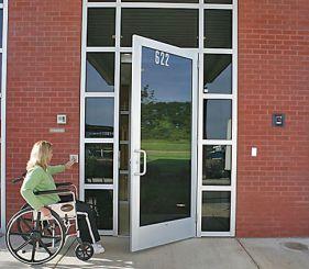 low energy doors